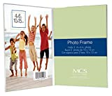 MCS Bent Acrylic Picture Frame 4 by 6-inch, Double Vertical