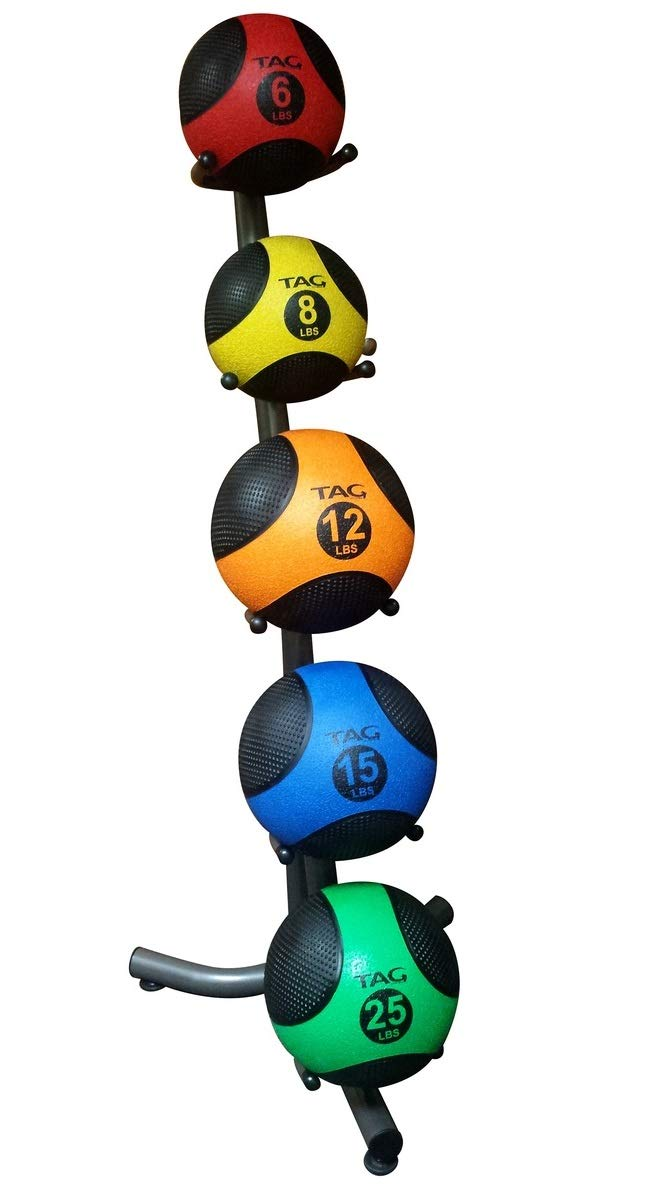 TAG Fitness 5 Ball Medicine Ball Rack by TAG Fitness (Image #1)