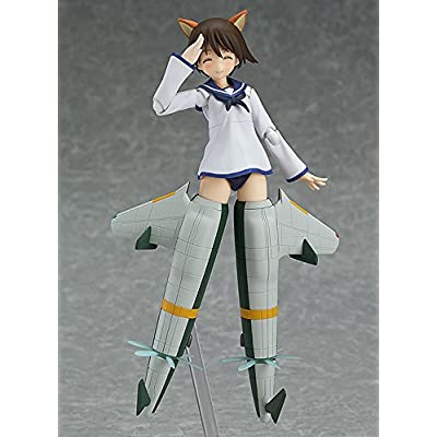 Max Factory Strike Witches: Yoshika Miyafuji Figma Action Figure (Movie Version): Toys & Games