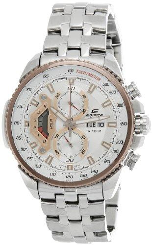 7a Edifice Mens Watch (Casio Mens Edifice Analog Casual Quartz Watch NWT EF-558D-7A)