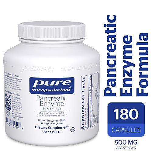 Pure Encapsulations - Pancreatic Enzyme Formula - Hypoallergenic Supplement to Support Proper Digestive Function* - 180 Capsules by Pure Encapsulations (Image #9)