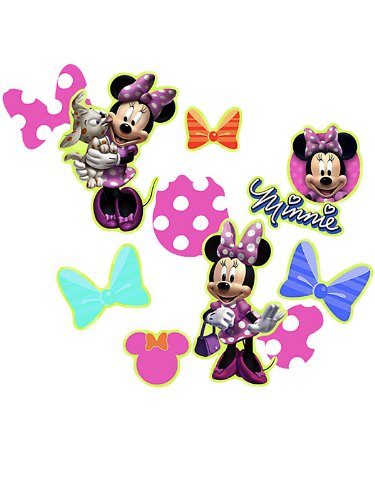 Disney Minnie Mouse Bow-tique Confetti Party Accessory