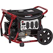 Powermate Portable Propane Generator, 120v, 4050w, Recoil Start
