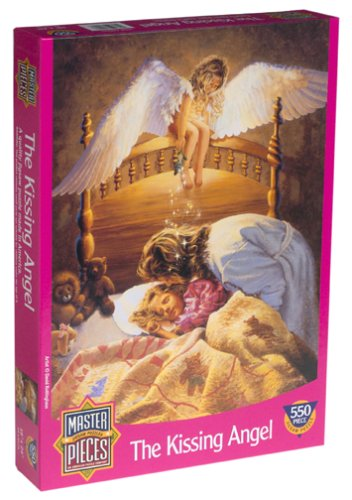 Kissing Angel Jigsaw Puzzle 550pc by MasterPieces (Puzzle 550pc Masterpieces)