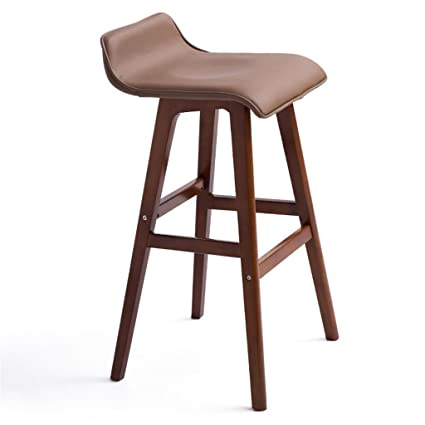 Furniture Simple Bar Chair Bar Stool Stylish Velvet Chair Lift High Chair Bar Stool Sturdy Construction