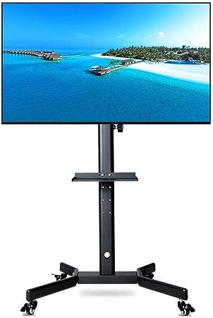 YUIOLIL 32-52 Pulgadas LED LCD Plasma TV Soporte Universal Carro de TV móvil: Amazon.es: Hogar