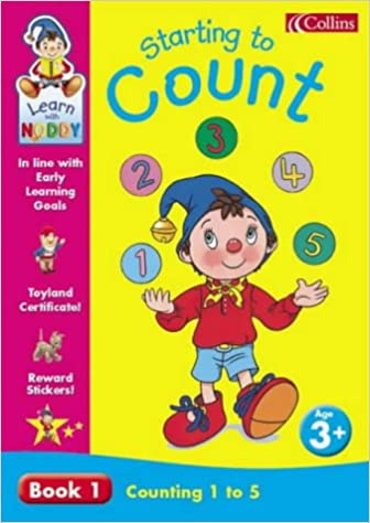 cac89e33886 Learn With Noddy – Counting 1–5  3+ Starting to Count (Learn with Noddy S.)  Paperback – Import