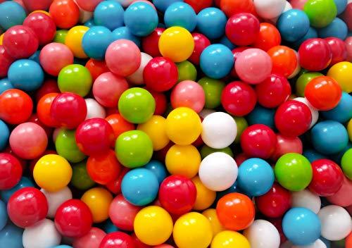 Rainbow Bubble King Gumballs 1 Pound Bulk