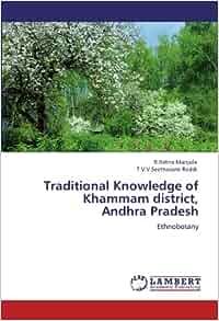Amazon.com: Traditional Knowledge of Khammam district, Andhra Pradesh