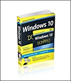 img - for Windows 10 For Dummies Book + Online Videos Bundle book / textbook / text book