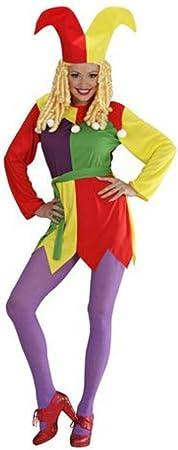 Disfraz de bufón para mujer - L: Amazon.es: Juguetes y juegos