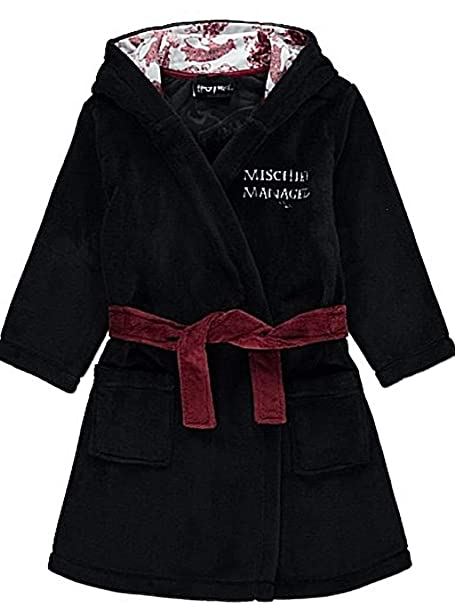 Harry Potter Official Boys Dressing Gown Marauders Map Robe (6-7 Years)   Amazon.co.uk  Clothing 47671ad16