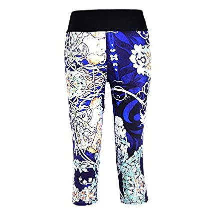 Amazon.com: Yoga Pants Women Sport Leggings Gym Elastic ...