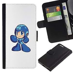 // PHONE CASE GIFT // Moda Estuche Funda de Cuero Billetera Tarjeta de crédito dinero bolsa Cubierta de proteccion Caso Apple Iphone 6 PLUS 5.5 / Metr0id Hero /