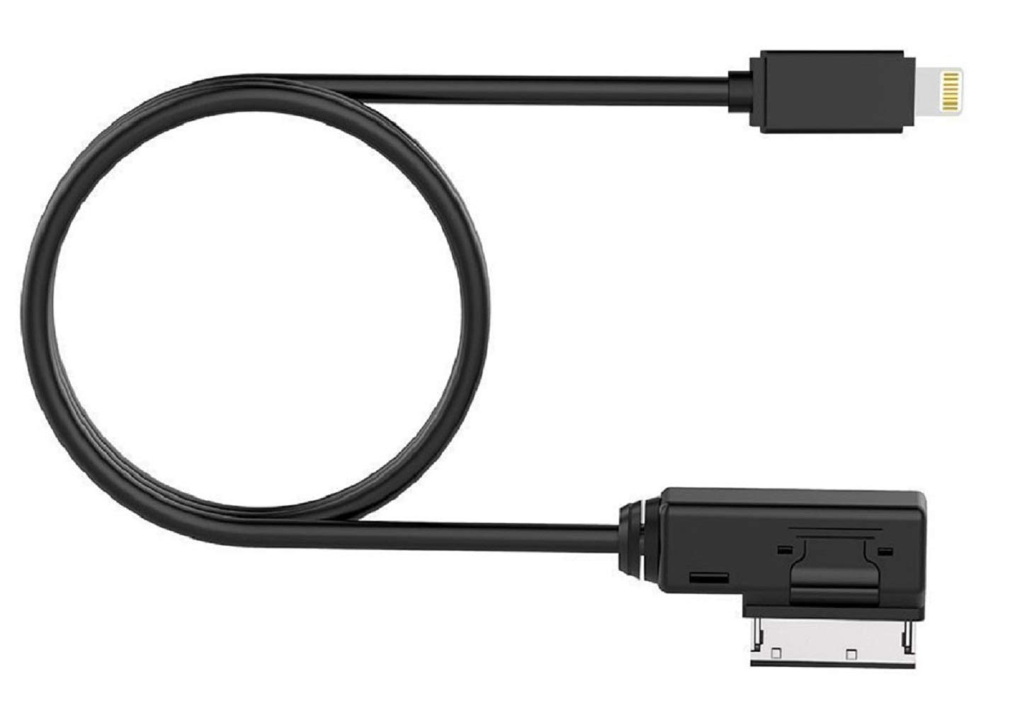 ELONN Compatible iPod iPhone USB AUX Audio Interface Y Cable for BMW and Mini