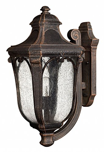 Hinkley 1314MO Traditional One Light Wall Mount from Trafalgar collection in Bronze/Darkfinish,
