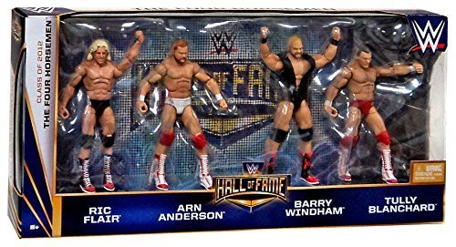 The Four Horsemen Hall of Fame WWE Elite 4 pack figures Ric Flair Arn Anderson Barry Windham Tully Blanchard by MATTEL