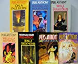 download ebook incarnations of immortality set (books 1-7) 1983-1990; on a pale horse, bearing an hourglass, with a tangled skein, weilding a red sword, being a green mother, for love of evil, & and eternity pdf epub