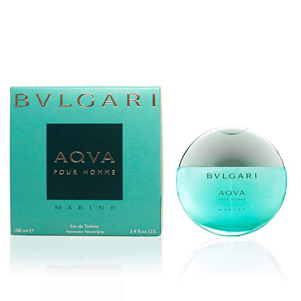7f03d8dc84 Amazon.com  Bvlgari Aqva Marine Pour Homme by Bvlgari 3.4oz 100ml EDT  Spray  BVLGARI AQVA MARINE  Beauty