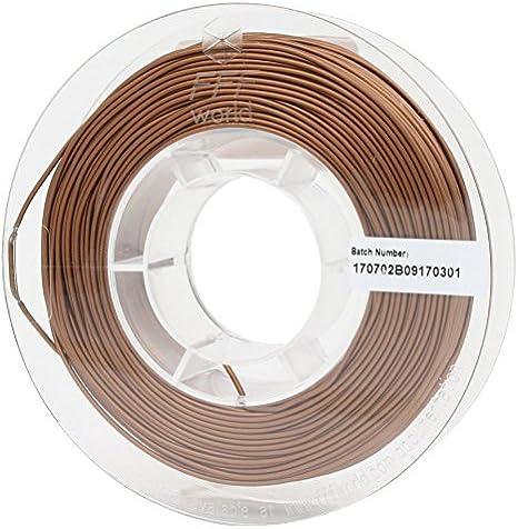 FFFworld FilaMETAL Copper 250 gr. 1.75 mm Filamento metálico para ...