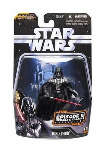 Hasbro Star Wars Greatest Hits Basic Figure Episode 3 Darth Vader]()