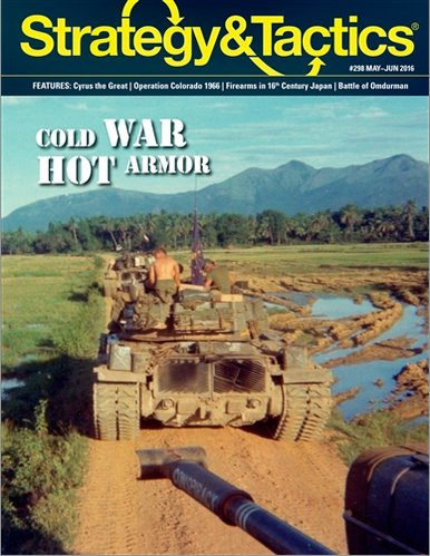 DG: Strategy & Tactics Issue #307, with Cold War Hot Armor: Vietnam Boardgame