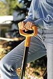 fiskars 46 inch steel d handle digging shovel