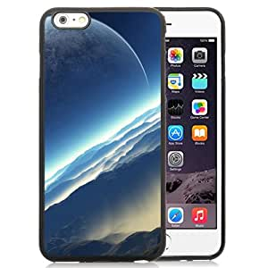 Fashionable And Unique Designed Cover Case For iPhone 6 Plus 5.5 Inch With Fictional Exoplanet Space_Black Phone Case