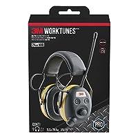 Protector auditivo WorkTunes de 3M con radio AM /FM