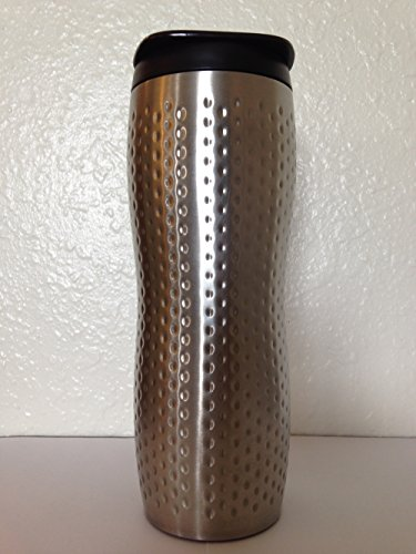 Starbucks Stainless Steel Dimpled Concord Travel Tumbler