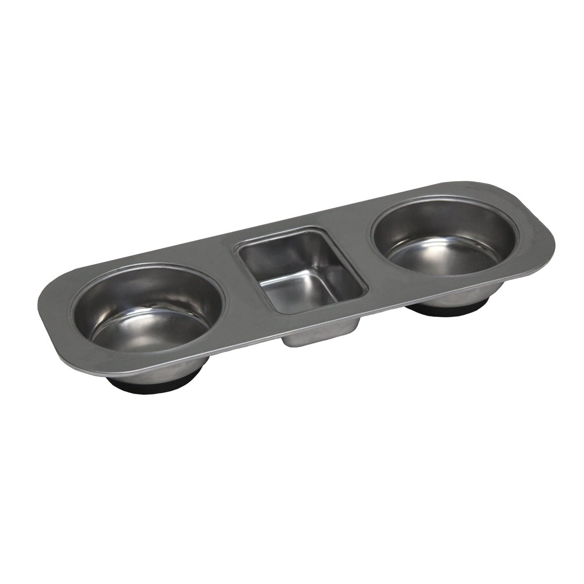 GRIP 67475 Stainless Steel Magnetic Organizer Tray