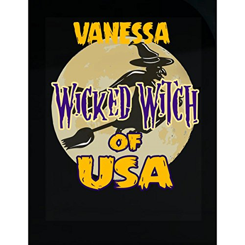 Prints Express Halloween Costume Vanessa Wicked Witch of USA Great Personalized Gift - Sticker]()