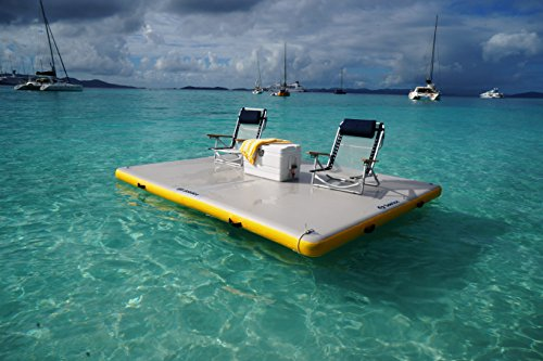 - Solstice by Swimline Inflatable Floating Dock