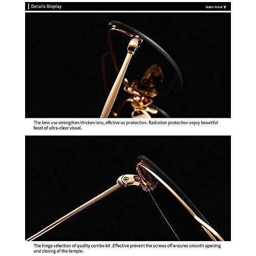 KOMEISHO Lunettes la Femmes Design Soleil Brillants Yeux De Petit Été De Violet Narrow Vacances Nuances Chat Protection Conduite Rétro Les nouveauté Designer Hommes pour Couleur Plage Gris pour UV rrdZvq