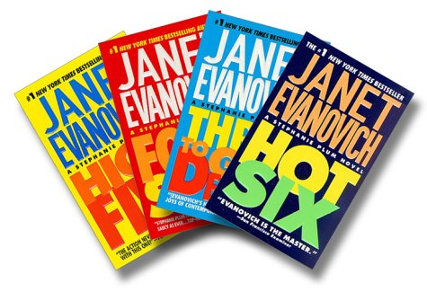 Janet Evanovich Three to Six Four-Book Set - Book  of the Stephanie Plum