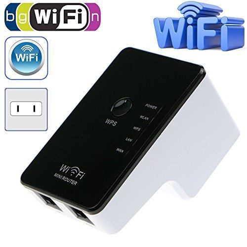 64 opinioni per PIX-LINK Wireless Booste WiFi Booster N300 Mbps Mini WiFi Extender Wireless