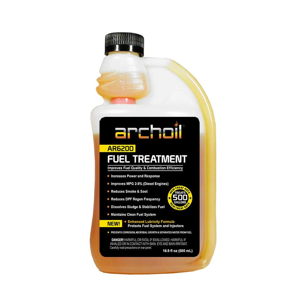 Archoil AR6200 (16 oz) Fuel Treatment - Treats 500 Gallons - Diesel Additive/Fuel Additive by Archoil