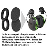 3M PELTOR X1 Ear Muffs Replacement Cushions and