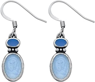 product image for DANFORTH - Fusion / Winter Earrings - 3/4 Inch - Handcrafted - Surgical Steel Wires