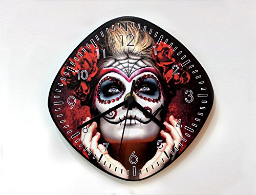 Day of the Dead Sugar Skull Catrina Calavera Makeup - Wall -