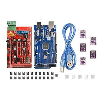 XCSOURCE DRV8825 - 5 controladores paso a paso + placa base ...