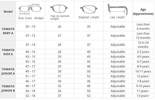 Tomato Glasses Eye Frames For Babies Super Flexible