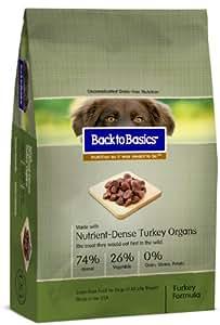 Back To Basics Instinct Turkey Dry Dog Food 13lb