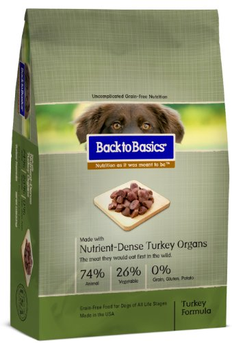 Back To Basics Instinct Turkey Dry Dog Food 13lb