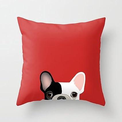 Mi Miel de almohada Bulldog Francés manta almohada por Anne ...