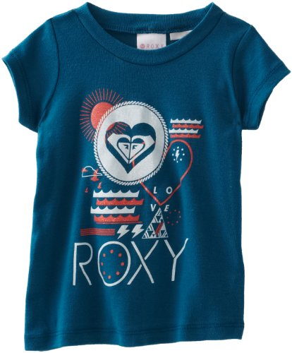 Roxy Kids Baby Girls' Infant Water West Tee