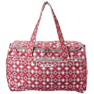 Ju-Ju-Be Starlet Duffel Bag, Pink Pinwheels