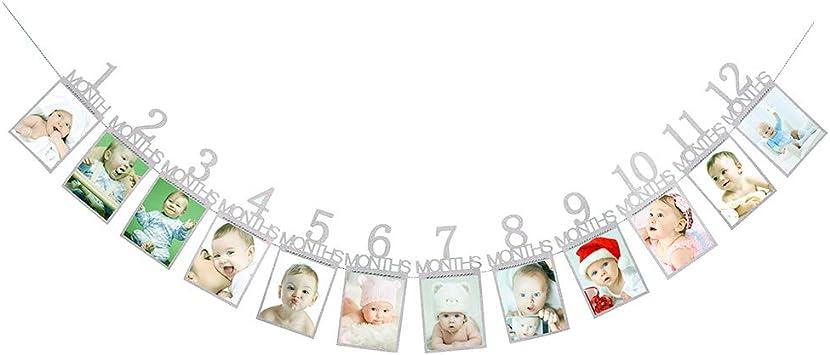 Amazon.com: JUYUE - Banner para primer cumpleaños de bebé de ...