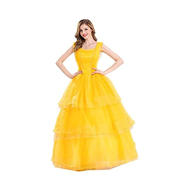 Amazon Swish Adult Women Belle Princess Dress Girls Halloween