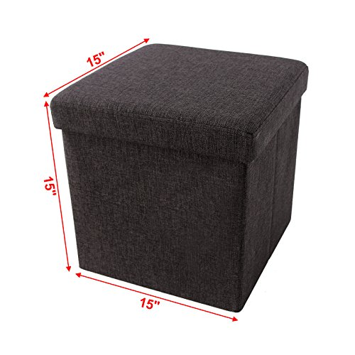 51R3byrl7kL - SONGMICS-Storage-Ottoman-CubeFootrest-StoolCoffee-TablePuppy-Step-Holds-Up-to-660lbs